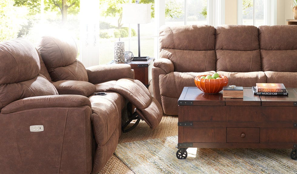 Take control of comfort. Shop Power Reclining.
