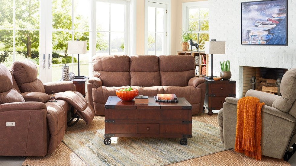Shop Recliners and Reclining Sofas.