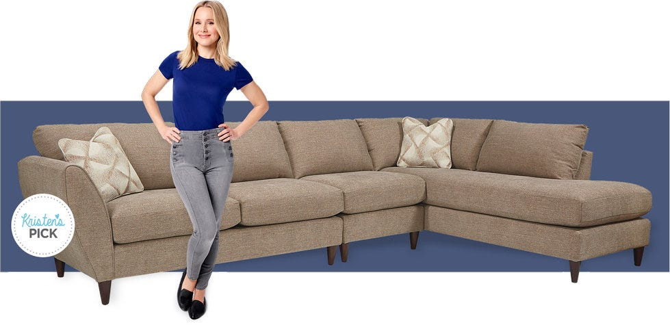 Shop Sectionals with Kristen Bell