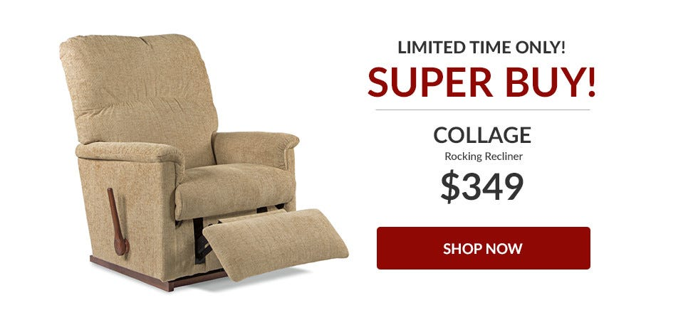 Collage Rocking Recliner - Now $349!