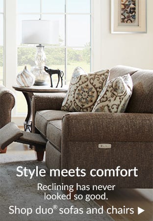 Style meets comfort
