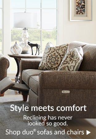 Style meets comfort