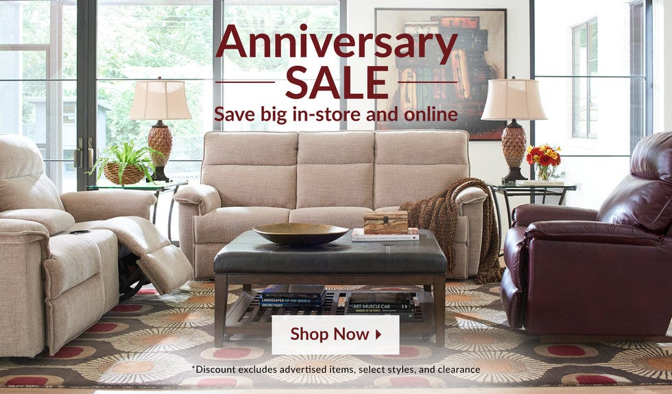 Anniversary Sale savings! Save big in-store and online.