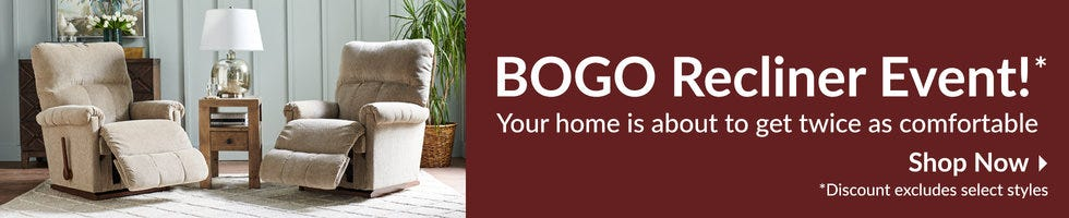 BOGO Recliner Event