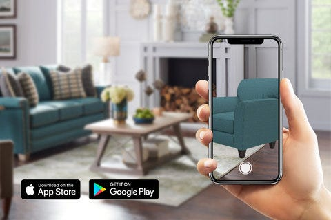 Bring the showroom home in AR