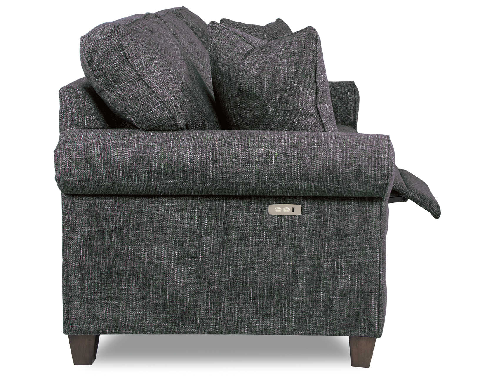 animated Makenna duo® Reclining Sofa side view