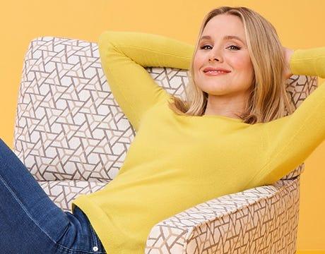Kristen Bell chairs