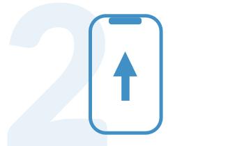Phone upload icon