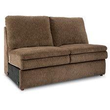 Devon La-Z-Time® Armless Loveseat  sc 1 st  La-Z-Boy : lazy boy devon sectional price - Sectionals, Sofas & Couches