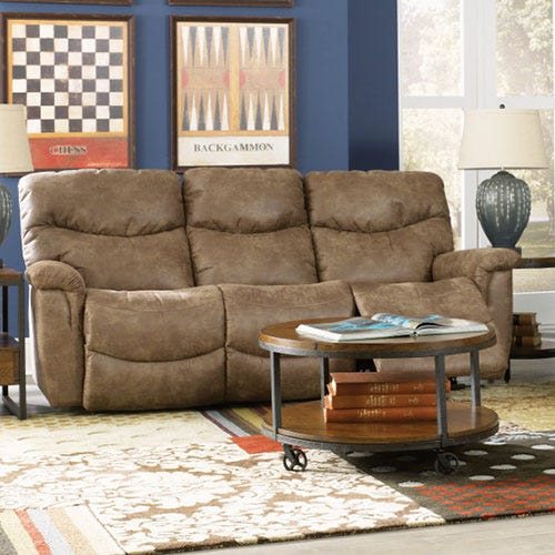 James La Z Time 174 Full Reclining Sofa
