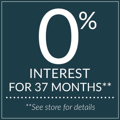 0% interest for 37 months.