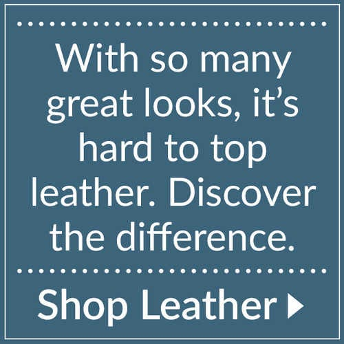 Discover the difference with leather.