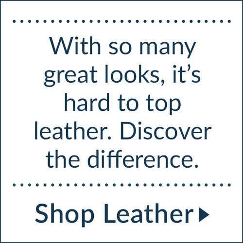 Explore leather options.