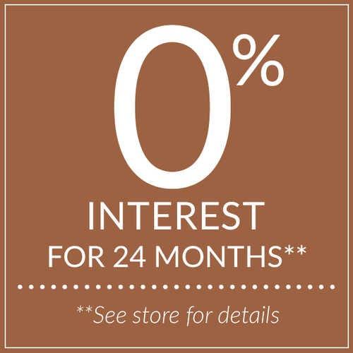 0% interest for 24 months. Voir les détails en magasins.