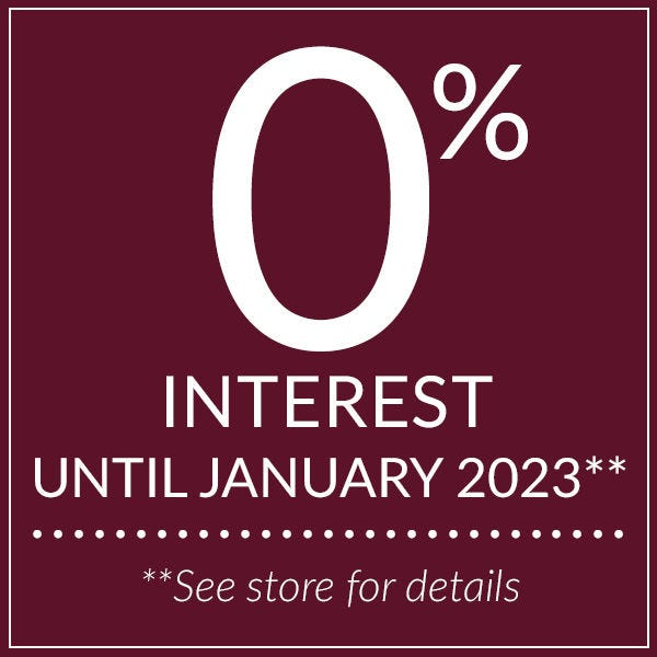0% interest until January 2023.