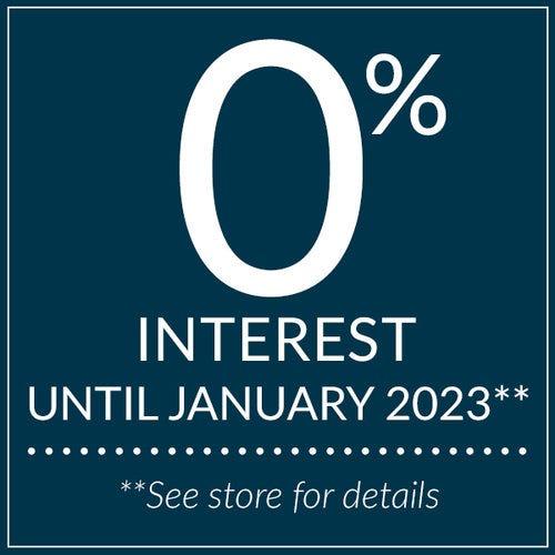 0% interest until January 2023.